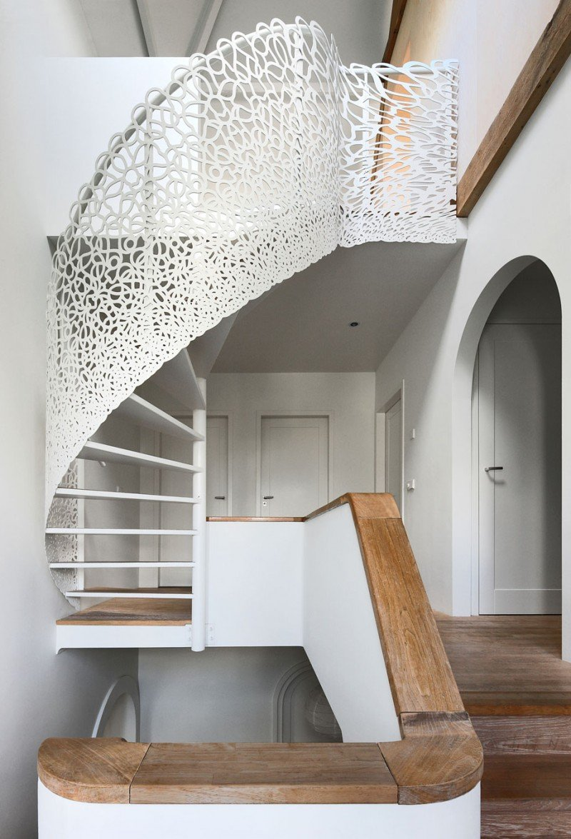 fancy staircase