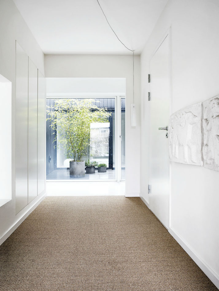 fancy white interior - danish design