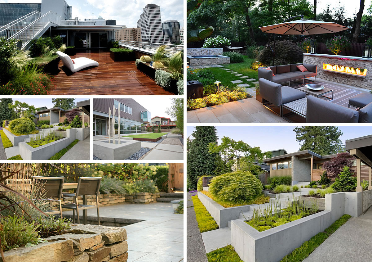 5 modern landscaping essentials for a stylish yard - Modern Front Yard Garden Ideas