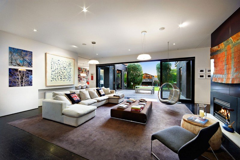 Living Room Extensions Interior Beauteous Elegant Victorian Residence In Melbourne Gets A Classy . Design Decoration