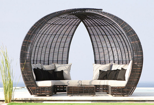 luxury daybed design Spartan, Shade And Iglu: Luxury Lounge Daybeds From Skyline Design