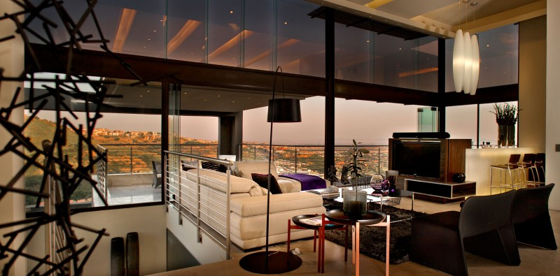 Living Room Johannesburg stunning lighting and stylish interiors grace house tat in
