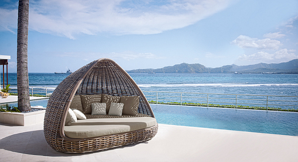 Spartan Shade And Iglu Luxury Lounge Daybeds From Skyline Design