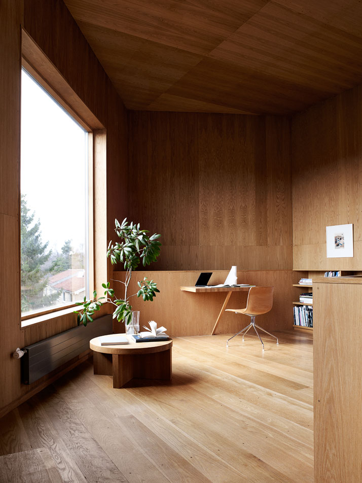 minimalist home office - nordic design