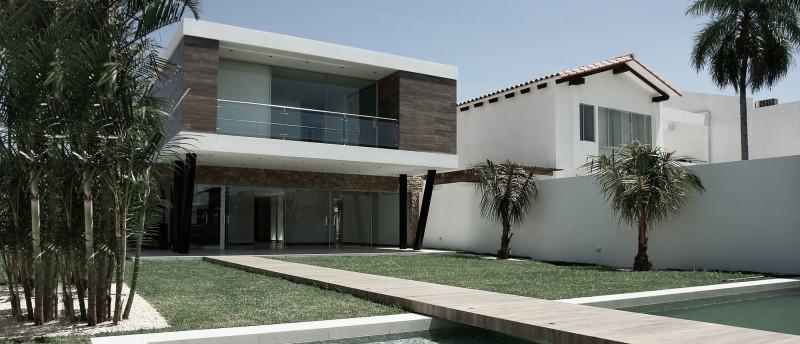 modern elevated house