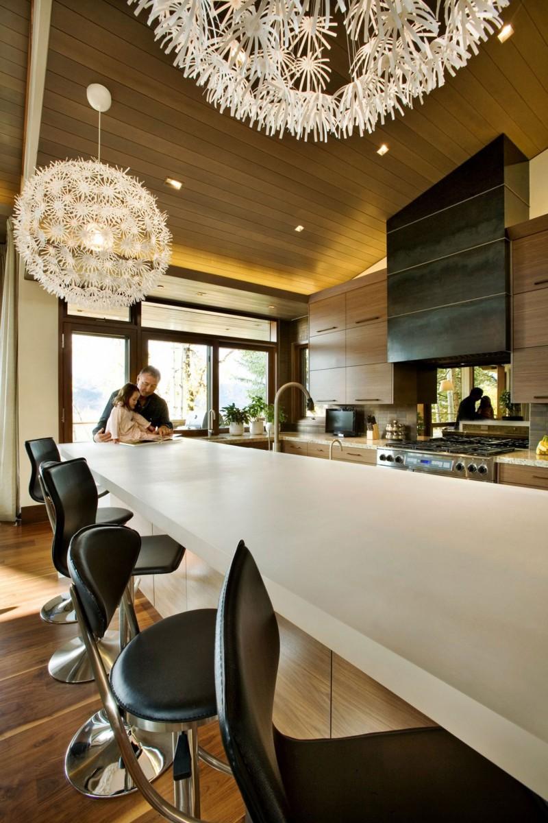 raised kitchen table