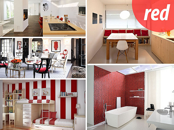 red decor inspiration