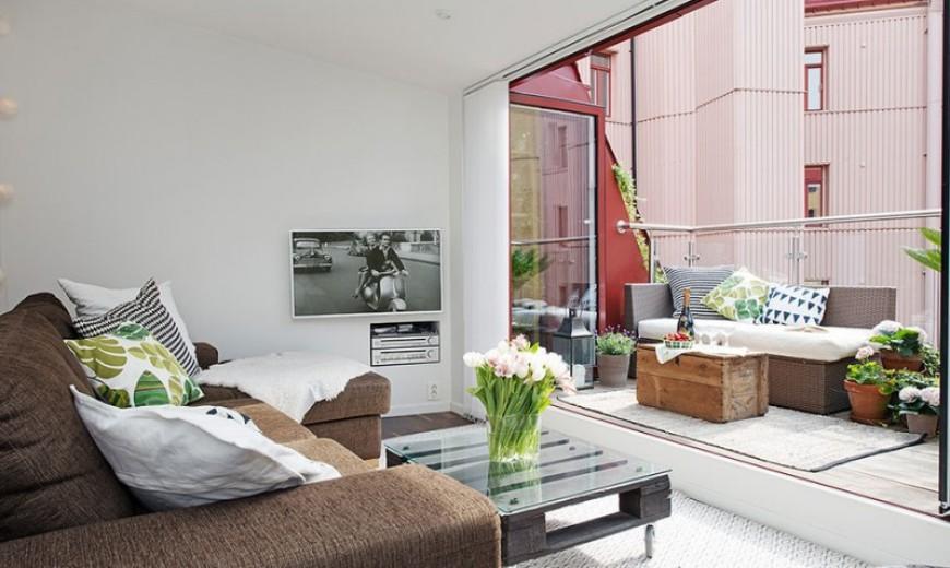 Gorgeous Gothenburg Maisonette Exudes Stylish Scandinavian Charm