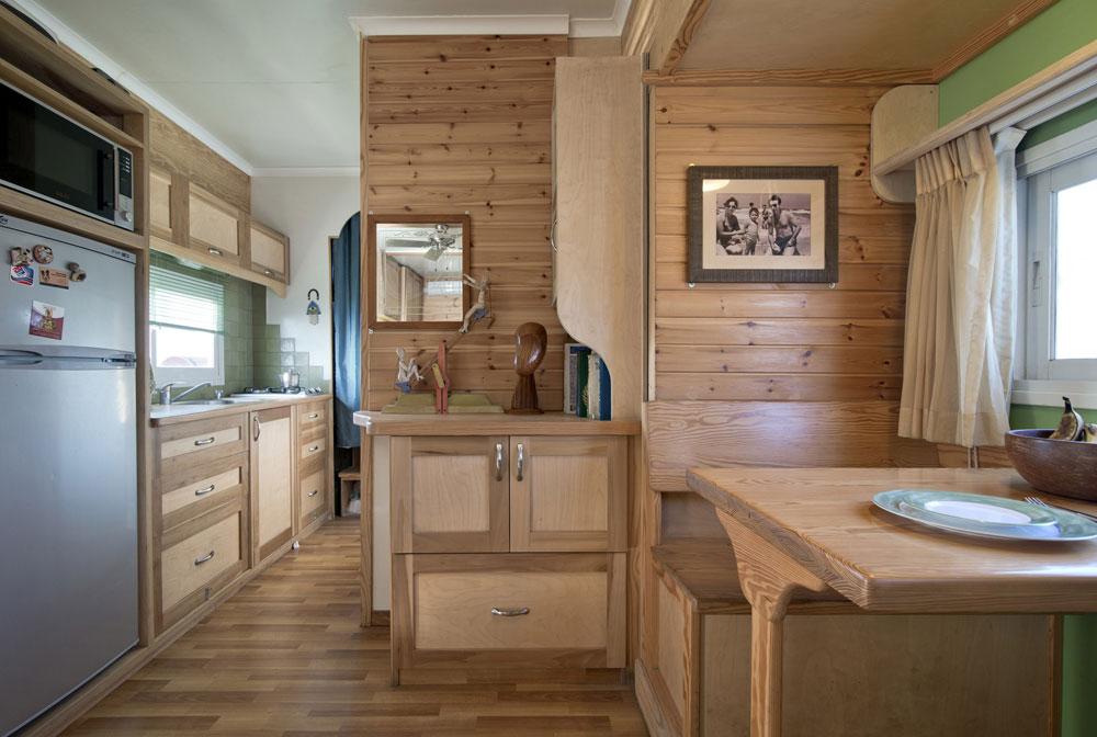 truck dining room