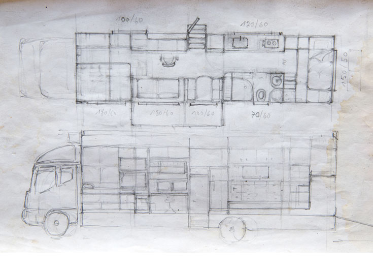 truck home plans