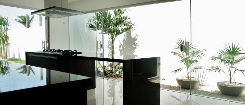 ultra sleek kitchen