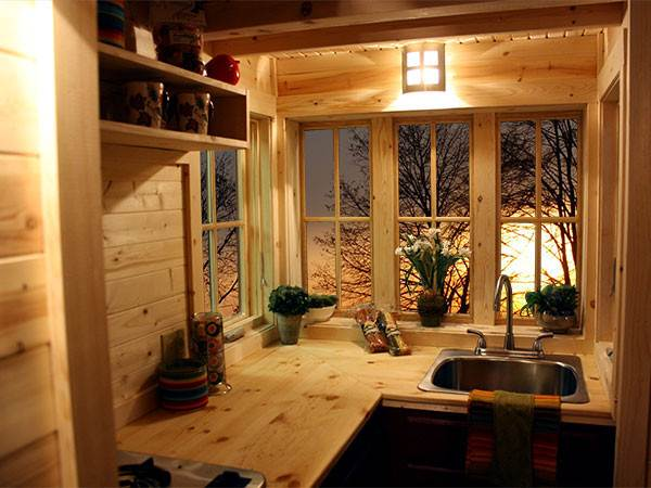 view in gallery a tumbleweed kitchen - Tumbleweed Homes