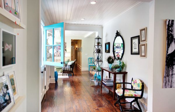 A dash of turquoise can bring in brightness to your interiors with ease