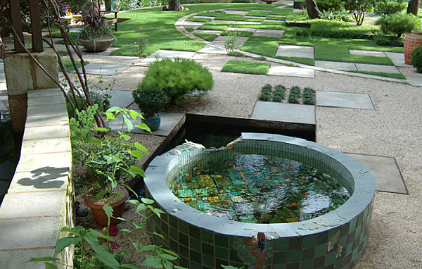 Garden ponds design ideas inspiration for Small garden with pond design