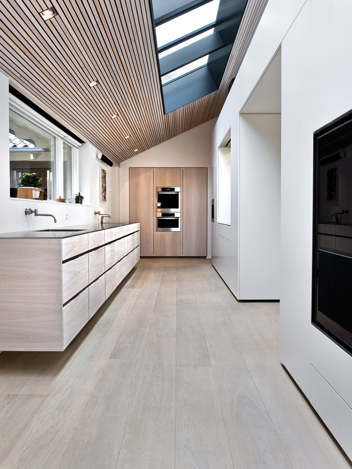 Bathroom Wood Flooring - Dinesen Oak