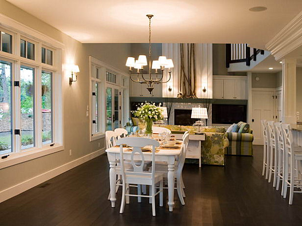 Craftsman Style Kitchens And Dining Rooms