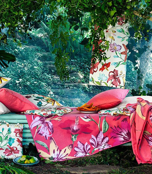 Colorful picnic blanket