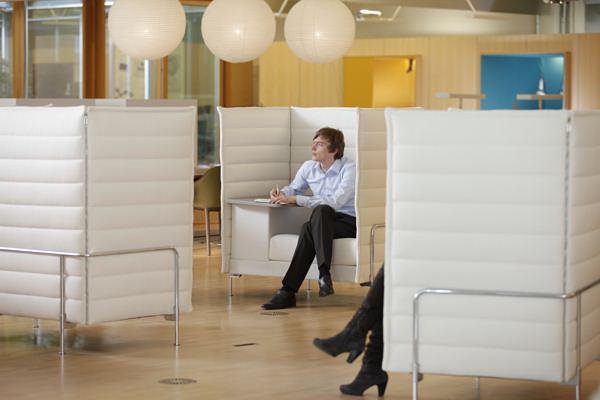 Comfy modern cubicles
