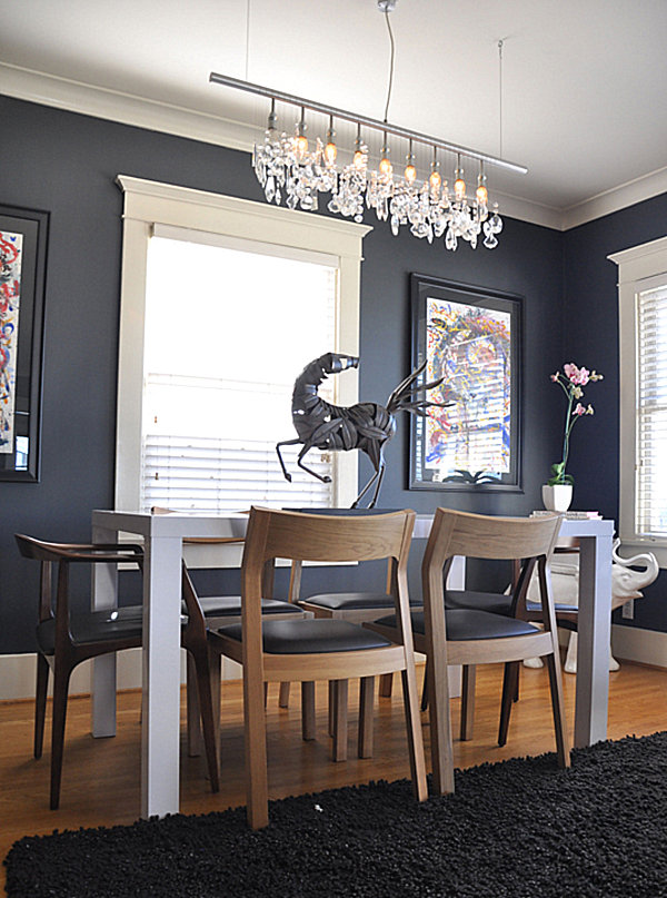 decor ideas for craftsman style homes On dining room gray walls