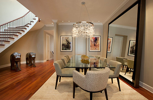 View In Gallery Contemporary Beige Dining Room