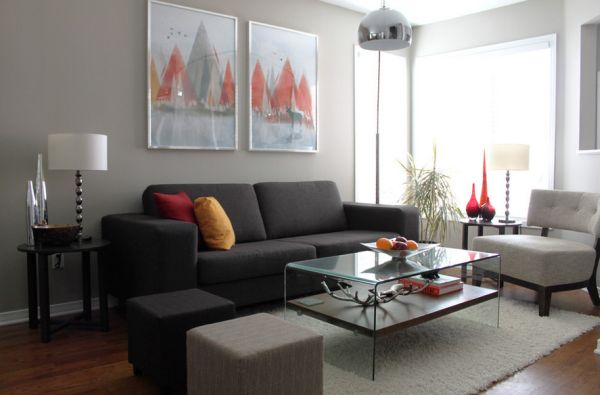 Fifty shades of grey design ideas and inspiration Shades of gray for living room