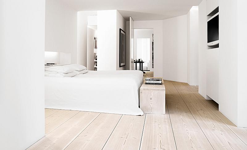 Copenhagen bedroom - Dinesen Douglas floor