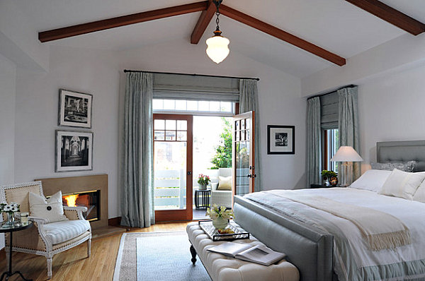 Craftsman charm in an updated bedroom