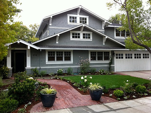 Decor ideas for craftsman style homes for Craftsman style home builders