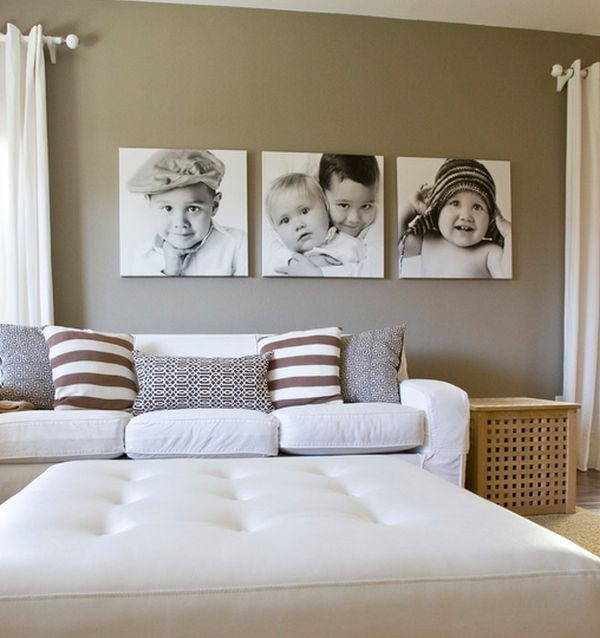 Cute and cuddly additions to a cozy bedroom in cream and white