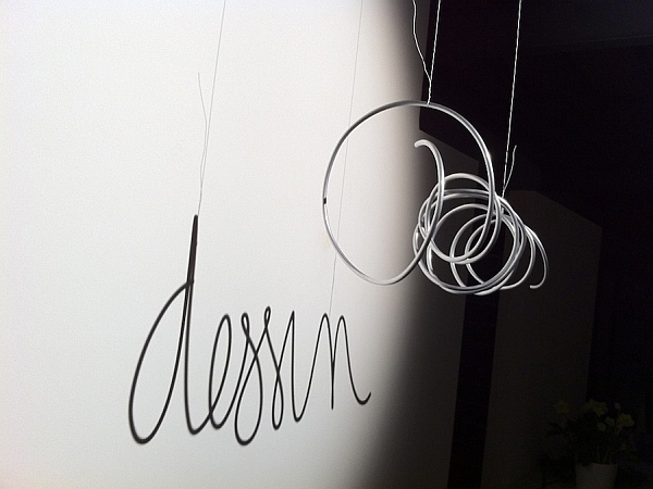 DIY hanging shadow