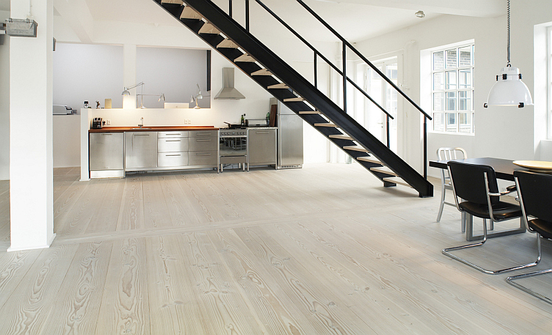 Danish interior design - Dinesen Douglas flooring