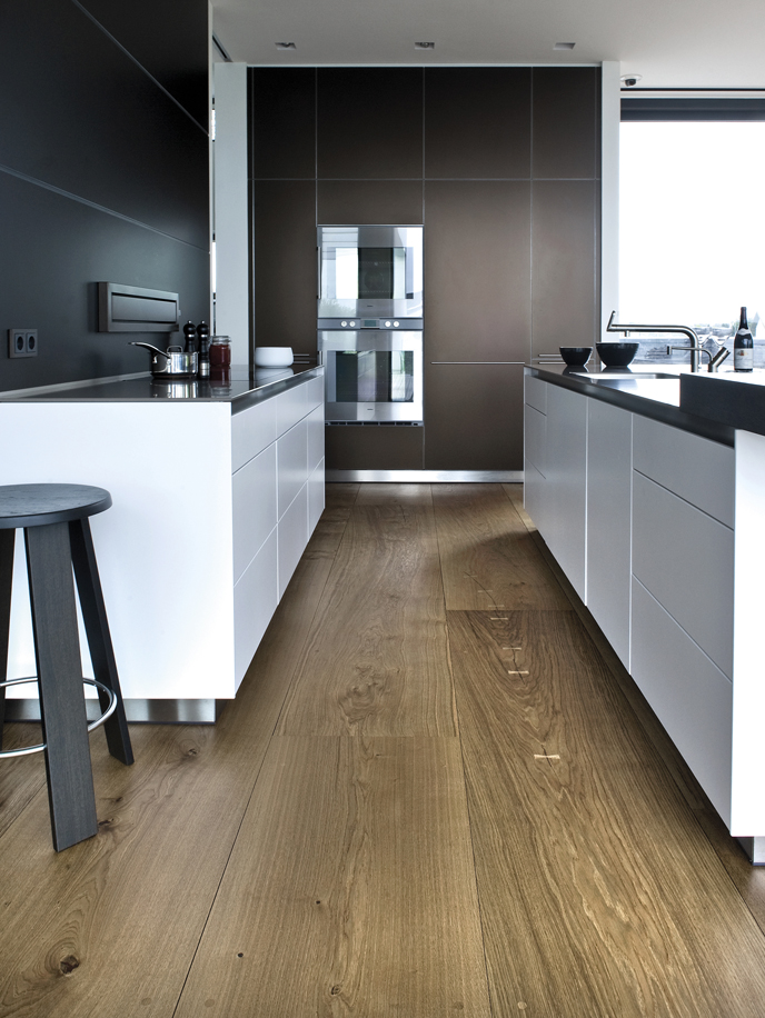 Danish kitchen flooring