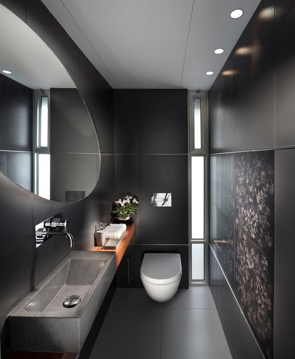 Darker tones of gray can produce brilliant results when employed judiciously!