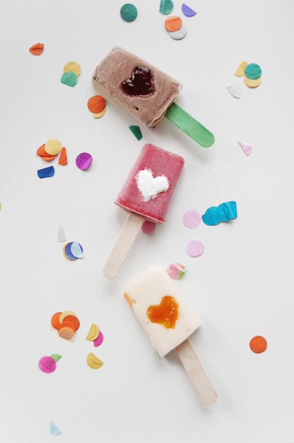 Delicious summer popsicles