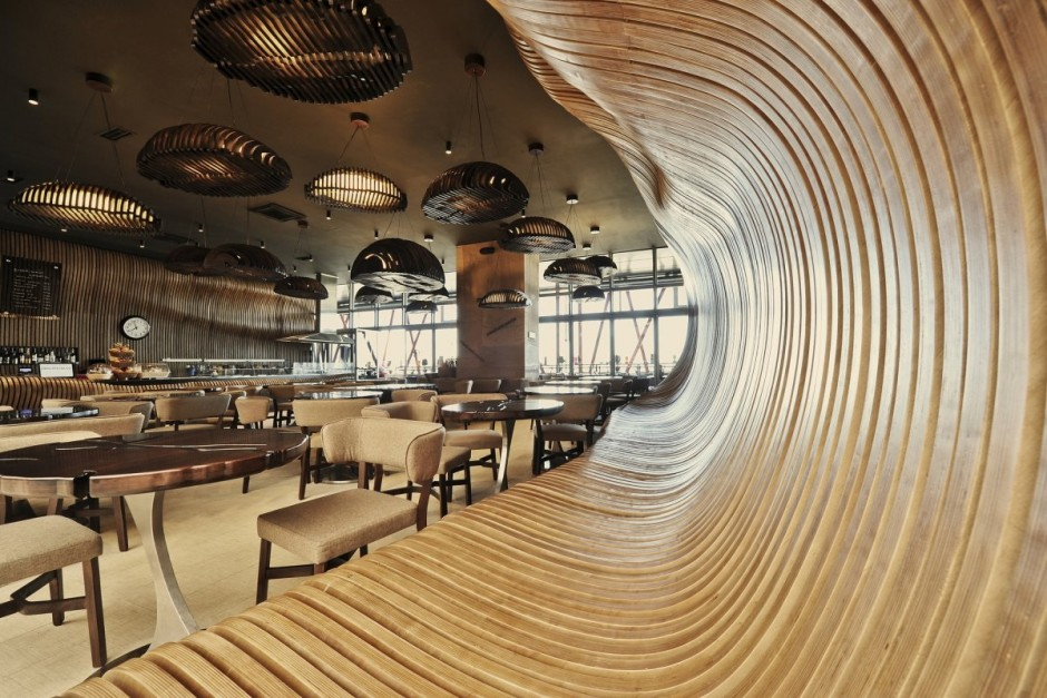 Don Cafe House Kosovo 1 Don Café House: Inspired Interiors Transport You Inside A Sack Full Of Coffee Beans!