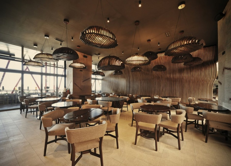 Don caf house inspired interiors transport you inside a - Cafe interior design ...