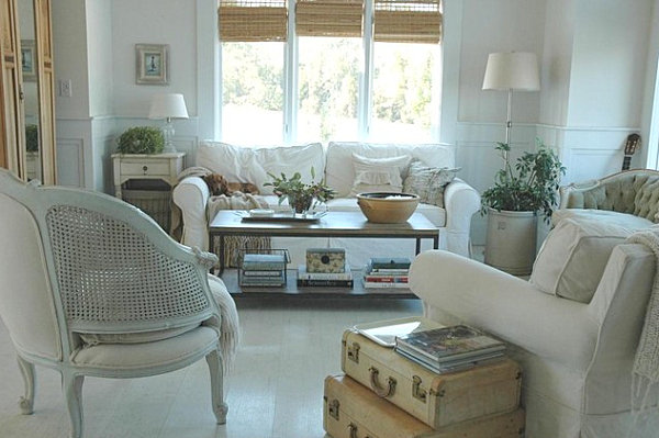 Exceptionnel View In Gallery Eclectic Modern Country Livng Room