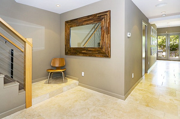 Entryway in beige