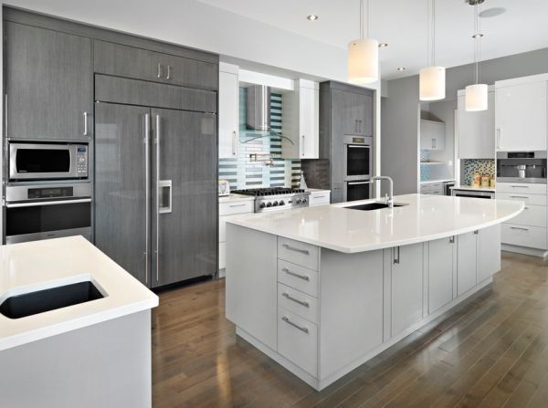 Gray cabinetry can be as appealing as any when used right