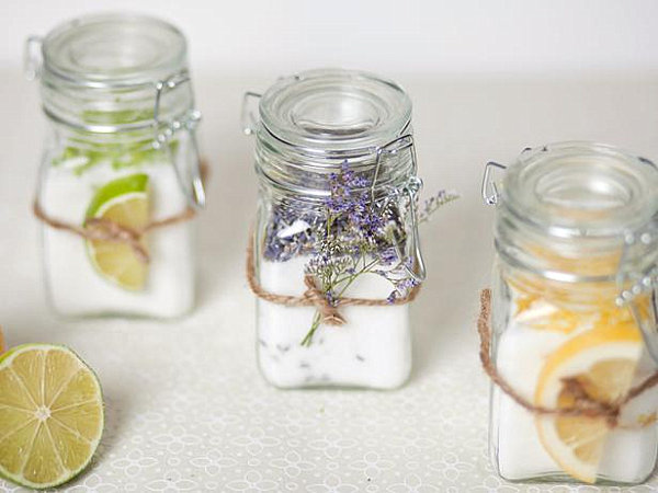Infused sugar party favor
