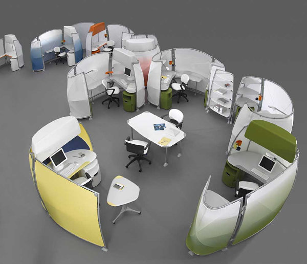 Knoll configurable cubicle system
