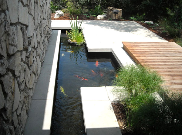 Garden ponds design ideas inspiration for Koi carp pool design