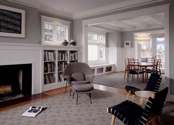 Modern living space for those who love ample gray