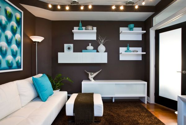 View In Gallery Neutral Backdrops In White Present The Perfect Canvas To  Splurge Turquoise Around Part 42