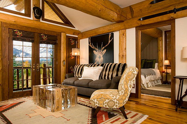 Rustic Country Living Room Country Home Decor With Contemporary Flair