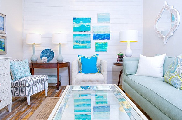 Soothing shades of blue 5 Ways to Bring Summer Style Home
