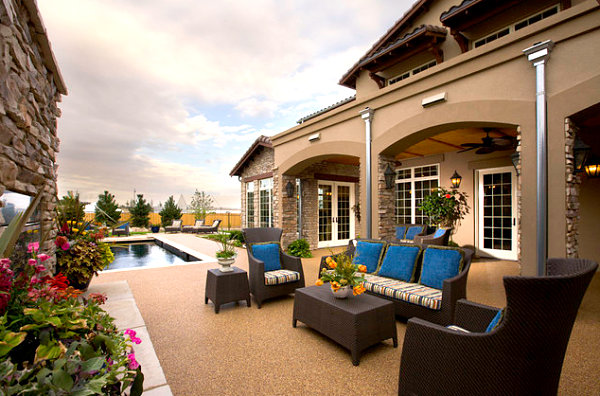 Amazing View In Gallery Striped And Solid Patio Cushion Options