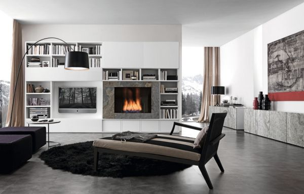 Subtle addition of various hues in gray to the interiors