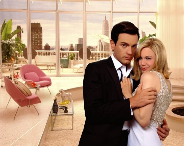 The Womb Chair shares spotlight along with Renee Zellweger in Down With Love