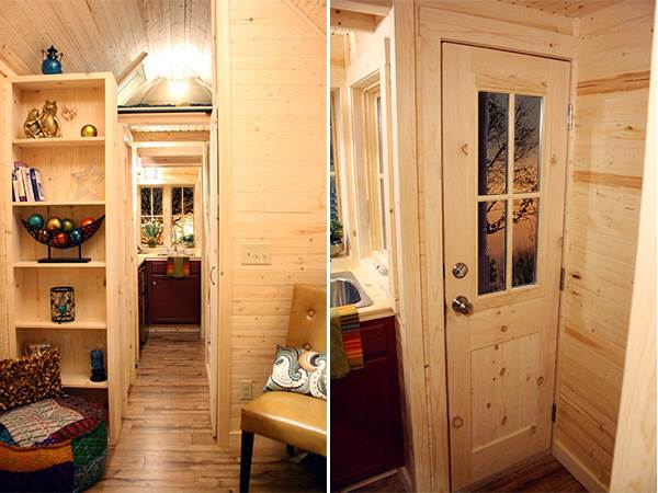 The compact style of tiny tumbleweed homes - Tumbleweed tiny house interior ...